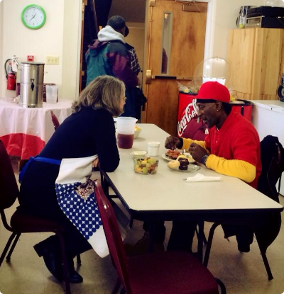 FCC- Mondays at the Soup Kitchen–the Right Place at the Right Time