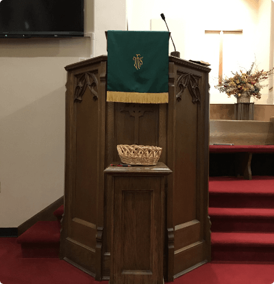 FCC- A Woman in the Pulpit