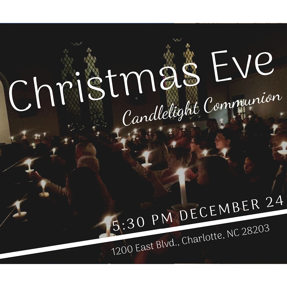 First Christian Church Christmas Eve Candlelight