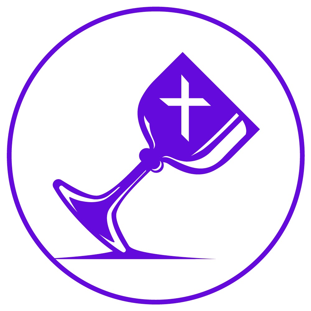 FCC Charlotte Purple Logo Maundy Thursday Service