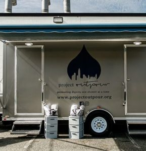 Project Outpour Mobile Shower Unit