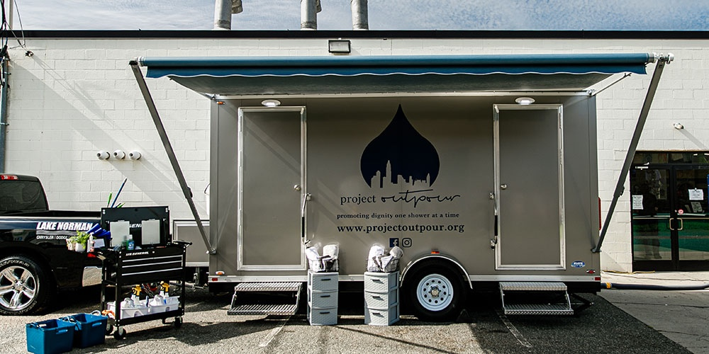 Project Outpour Mobile Shower Unit