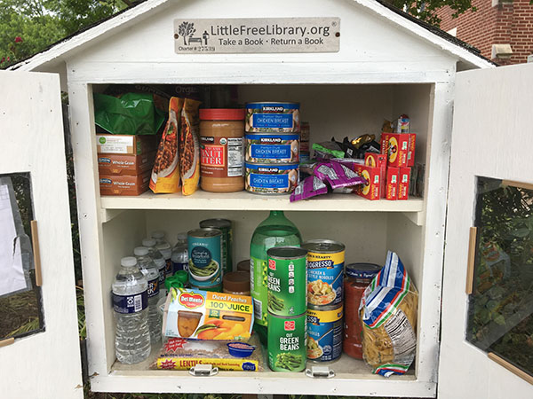 FCC Charlotte Free Little Pantry