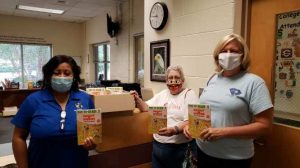 Members of First Christian Church Community Donations to J.H. Gunn Elementary