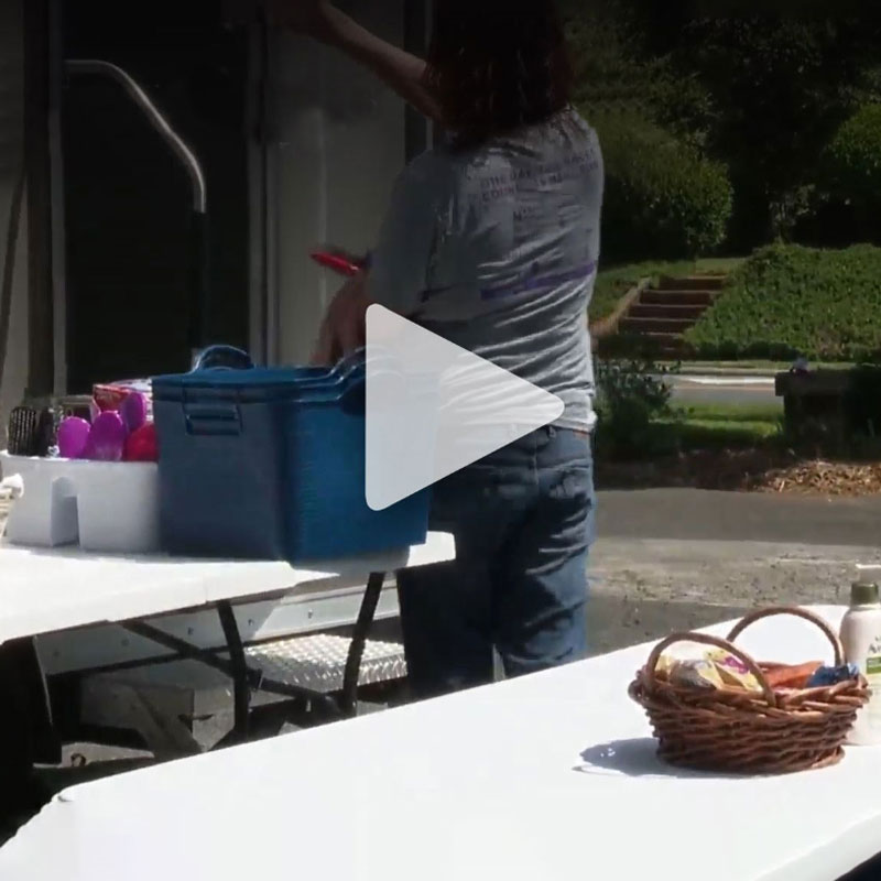 FCC Featured on Fox 46 for Project Outpour Showers for the Homeless